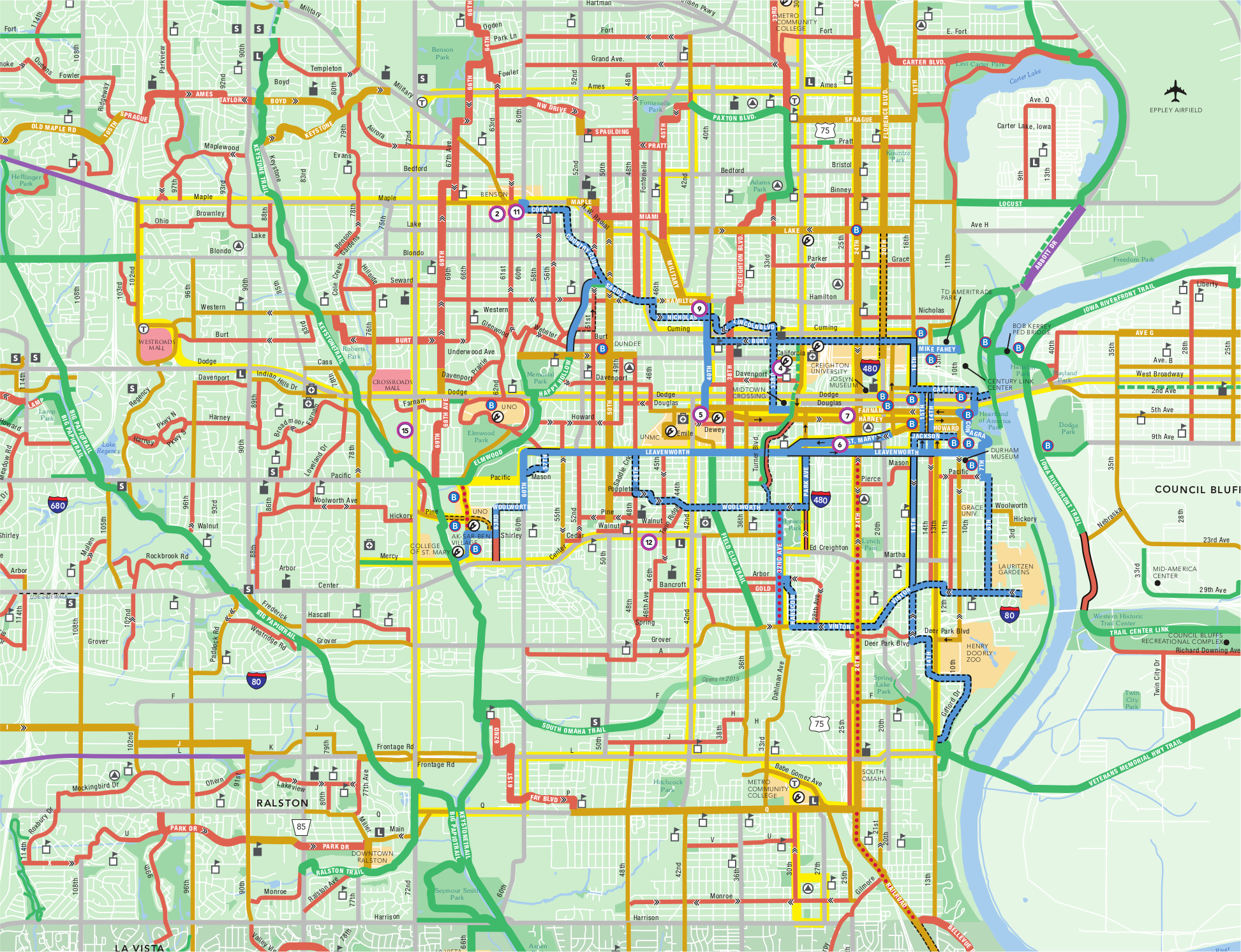 Local Transportation Info ModeShiftOmaha